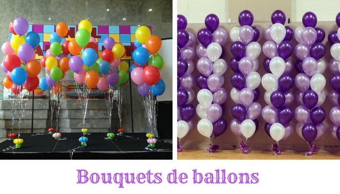 Bouquets de ballons