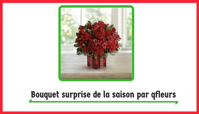 Bouquet surprise de la saison par qfleurs