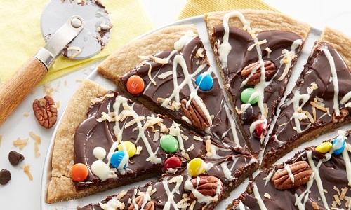 Pizza au chocolat