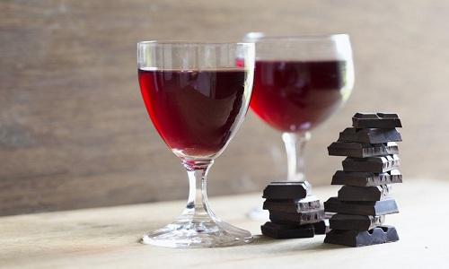 Vieus vin au chocolat