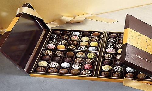 Godiva Truffles chocolate