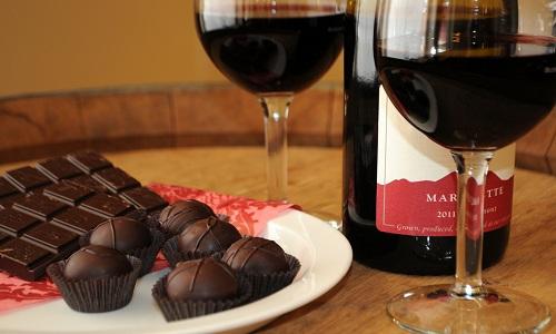 Vin rougue aux truffles