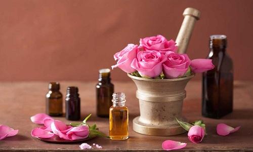 Parfum aromatique de rose