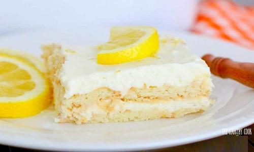 Gâteau glacé au citron