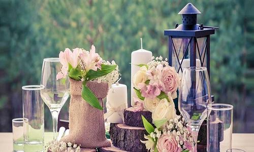 Lanterne a fleurs