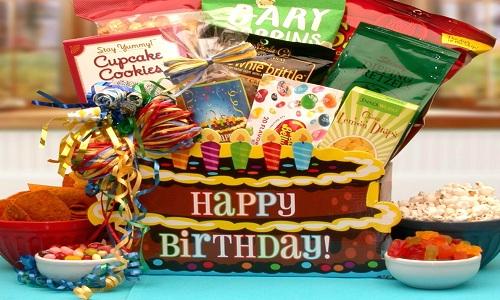 Envoyer leurs cadeaux d'anniversaire