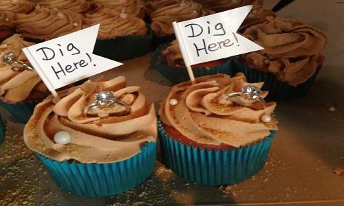 cupcake pour invite