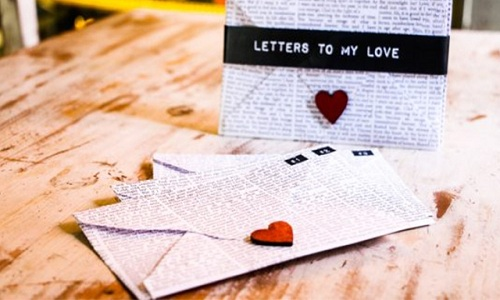 Letters pour exprimer votre amour eternel