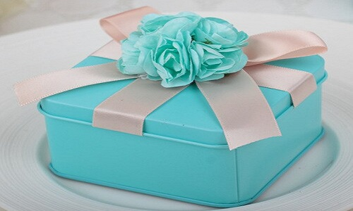 Cadeaux en plat