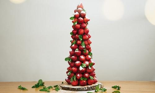 Sapin de Noël aux pommes