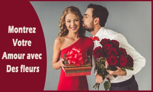Montrez votre amour avec des fleurs