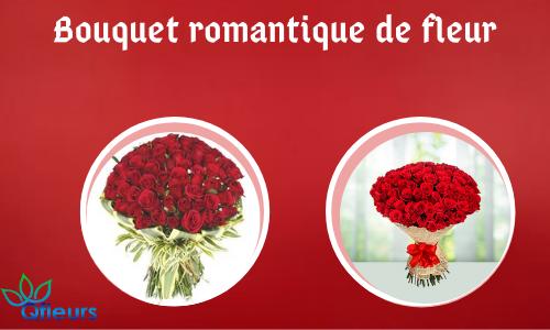 Bouquet romantique de fleurs