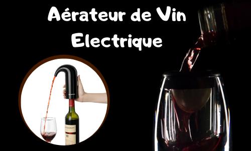 Aérateur de Vin Electrique