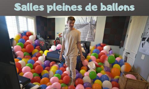 Salles pleines de ballons