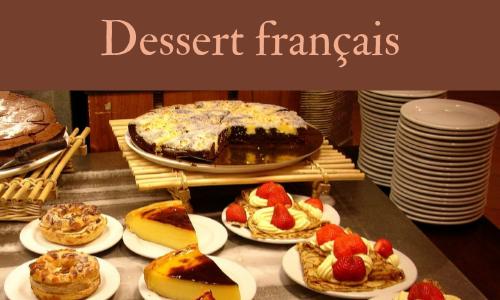 Dessert français