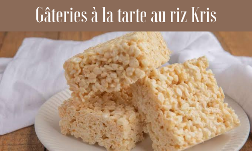 Gâteries à la tarte au riz Kris