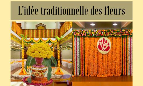 L'idée traditionnelle des fleurs