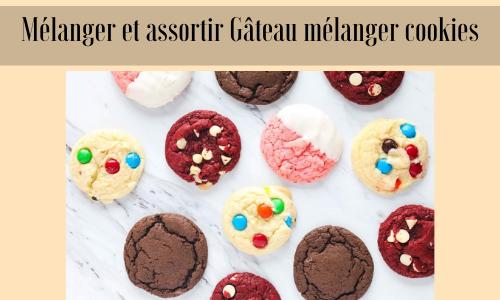 Mélanger et assortir Gâteau mélanger cookies