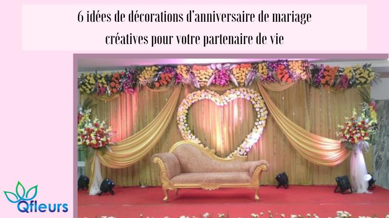 6 idées de décorations d'anniversaire de mariage créatives pour votre partenaire de vie
