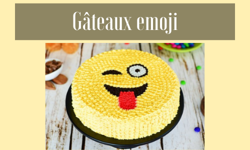 Gâteaux emoji