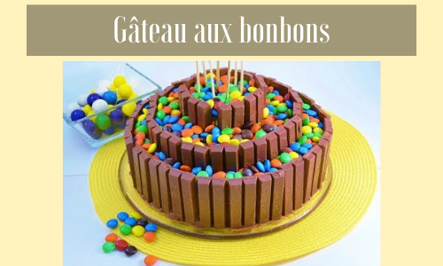 Gâteau aux bonbons
