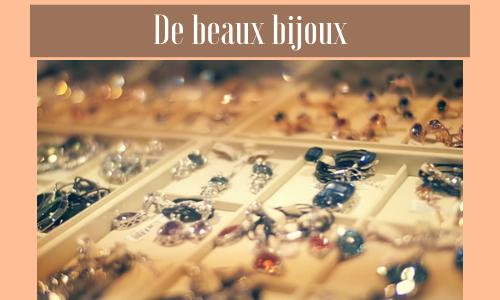 De beaux bijoux