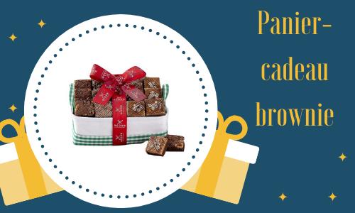 Panier-cadeau brownie