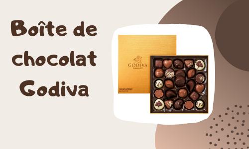 Boîte de chocolat Godiva