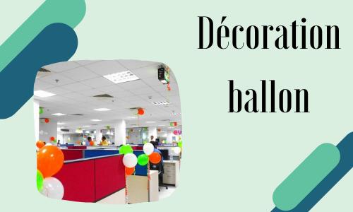 Décoration ballon