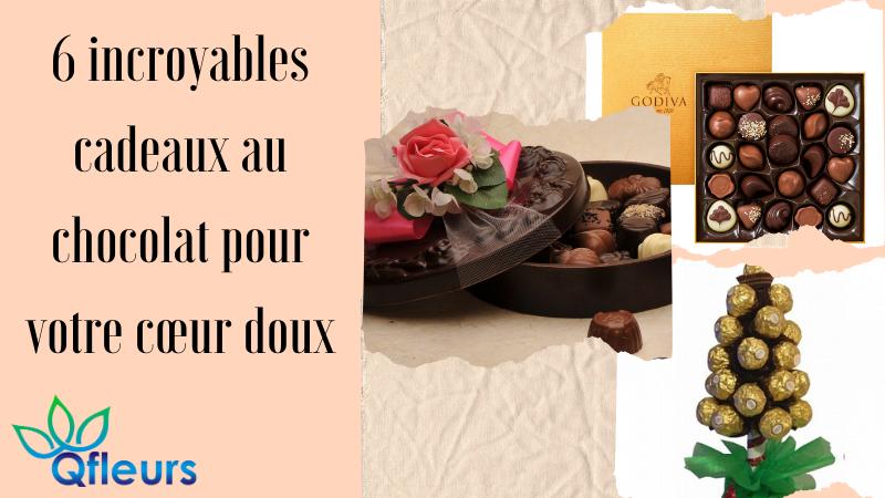 6 incroyables cadeaux au chocolat pour votre cœur doux