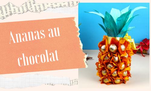 Ananas au chocolat