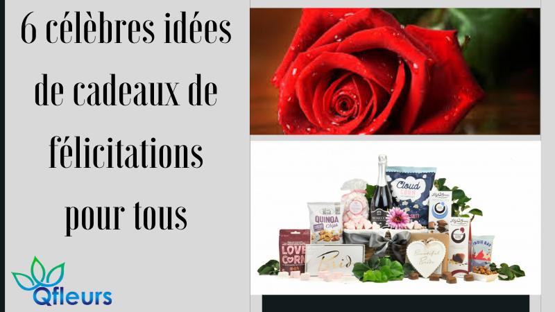 6 célèbres idées de cadeaux de félicitations pour tous