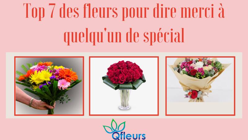 Top 7 des fleurs pour dire merci à quelqu'un de spécial
