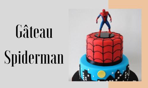 Gâteau Spiderman