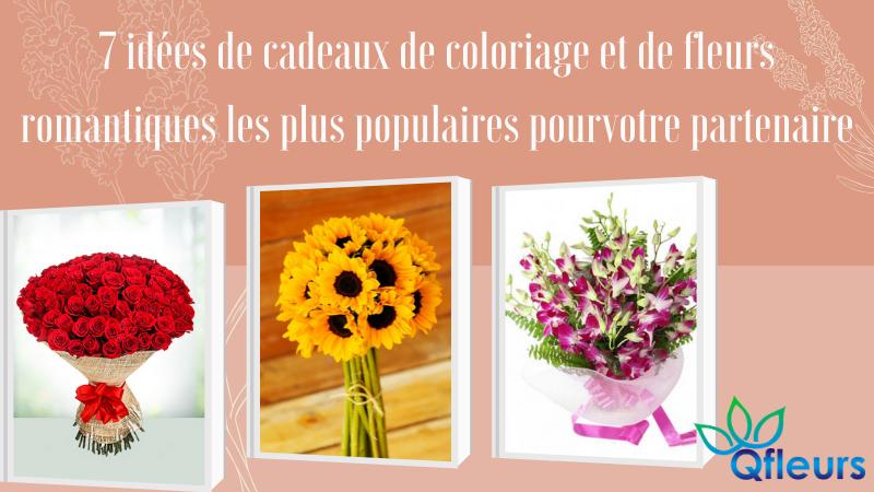 7 idées de cadeaux de coloriage et de fleurs romantiques les plus populaires pour votre partenaire