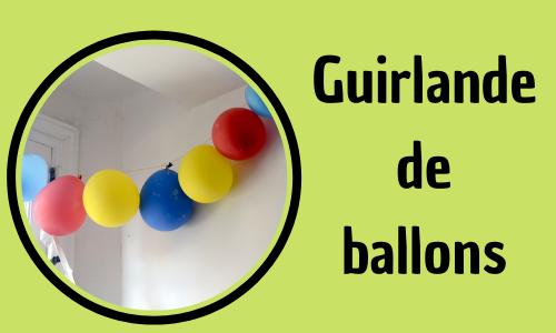 Guirlande de ballons