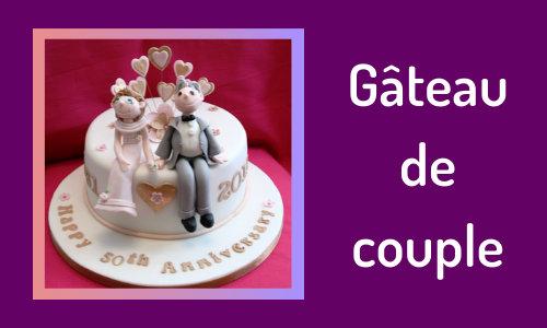 Gâteau de couple