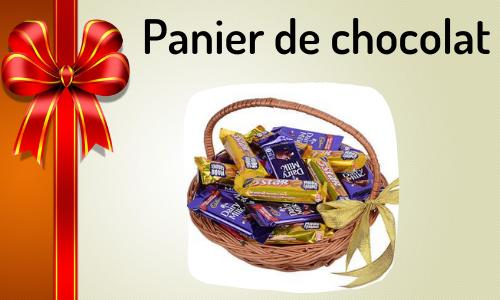Panier de chocolat
