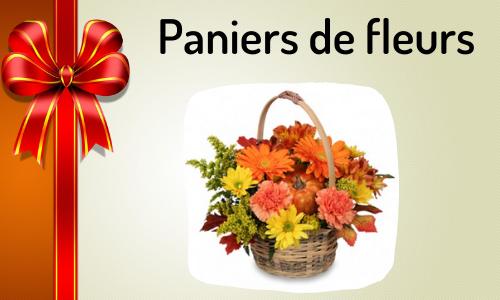 Paniers de fleurs