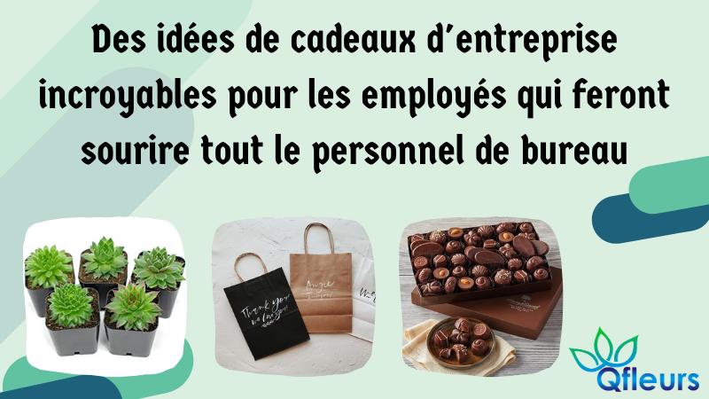 Des idées de cadeaux d'entreprise incroyables pour les employés qui feront sourire tout le personnel de bureau