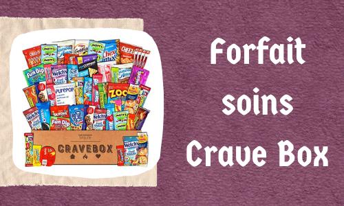 Forfait soins Crave Box