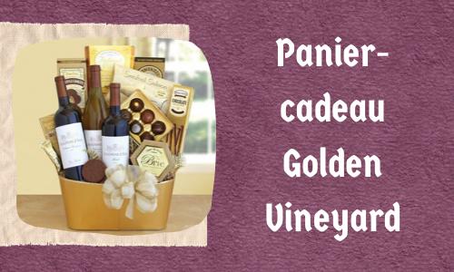 Panier-cadeau Golden Vineyard
