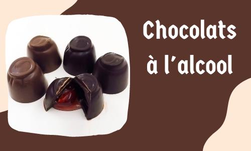 Chocolats à l'alcool