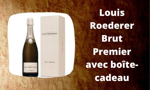 Louis Roederer Brut Premier avec boîte-cadeau