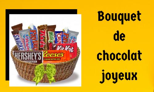 Bouquet de chocolat joyeux