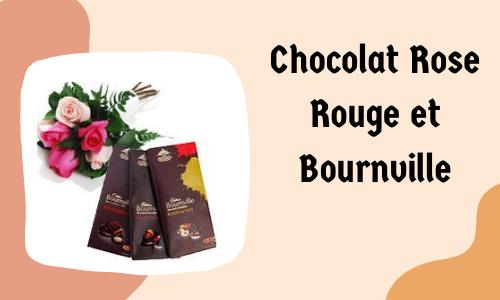 Chocolat Rose Rouge et Bournville