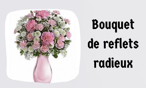 Bouquet de reflets radieux