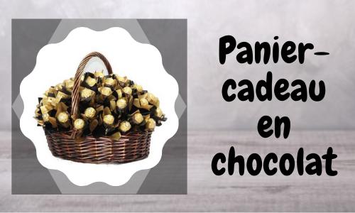 Panier-cadeau en chocolat