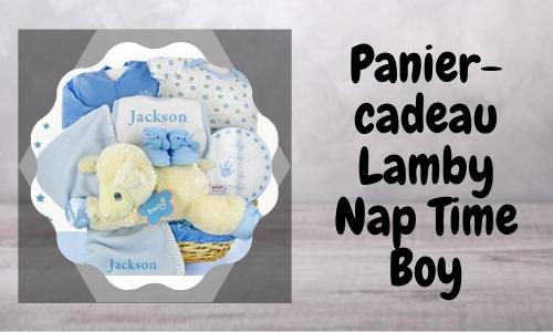 Panier-cadeau Lamby Nap Time Boy