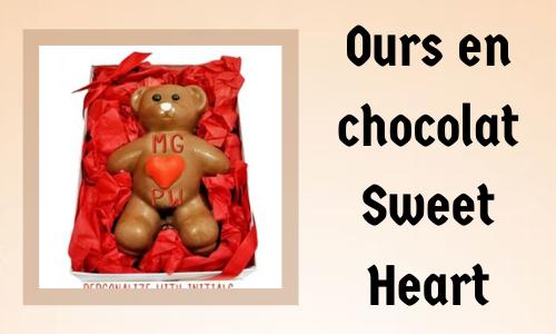Ours en chocolat Sweet Heart